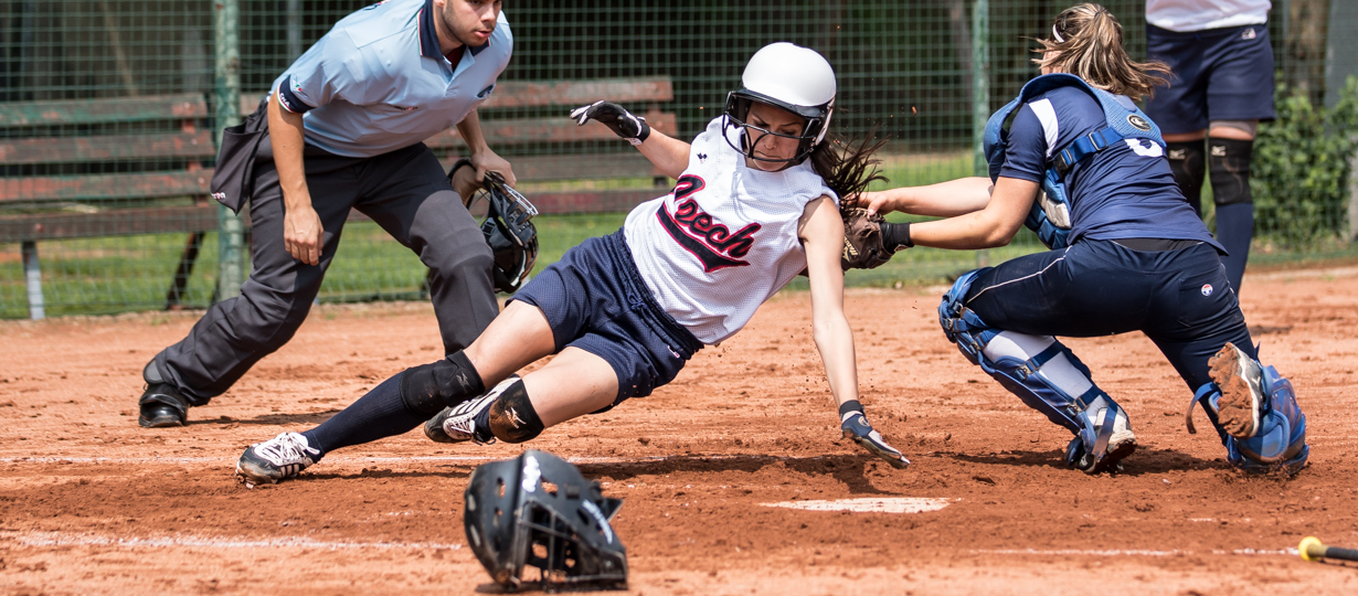 Shots from the Softball Torneo della Repubblica Bollate Italy.  France Softball National team was opposed to Czech All Star team. France lost 4 to 2 in 7 innings. Credit : Glenn Gervot