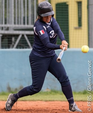Shots from the Softball Torneo della Repubblica Bollate Italy. France Softball National team was opposed to Caronno LocalTeam. France lost 6 to 4 in 7 innings. Credit : Glenn Gervot