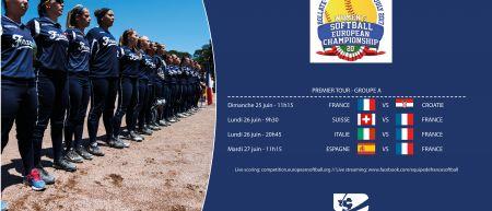 Programme France Euro Softball 2017
